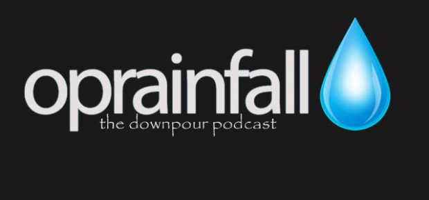 The Downpour Podcast logo
