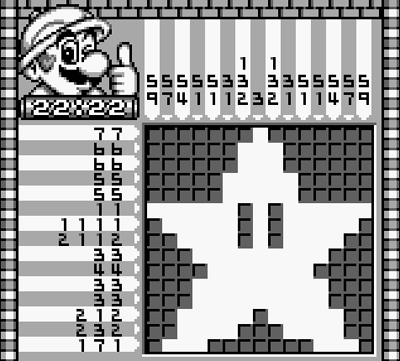foto de Game of the Week: Mario s Picross Operation Rainfall