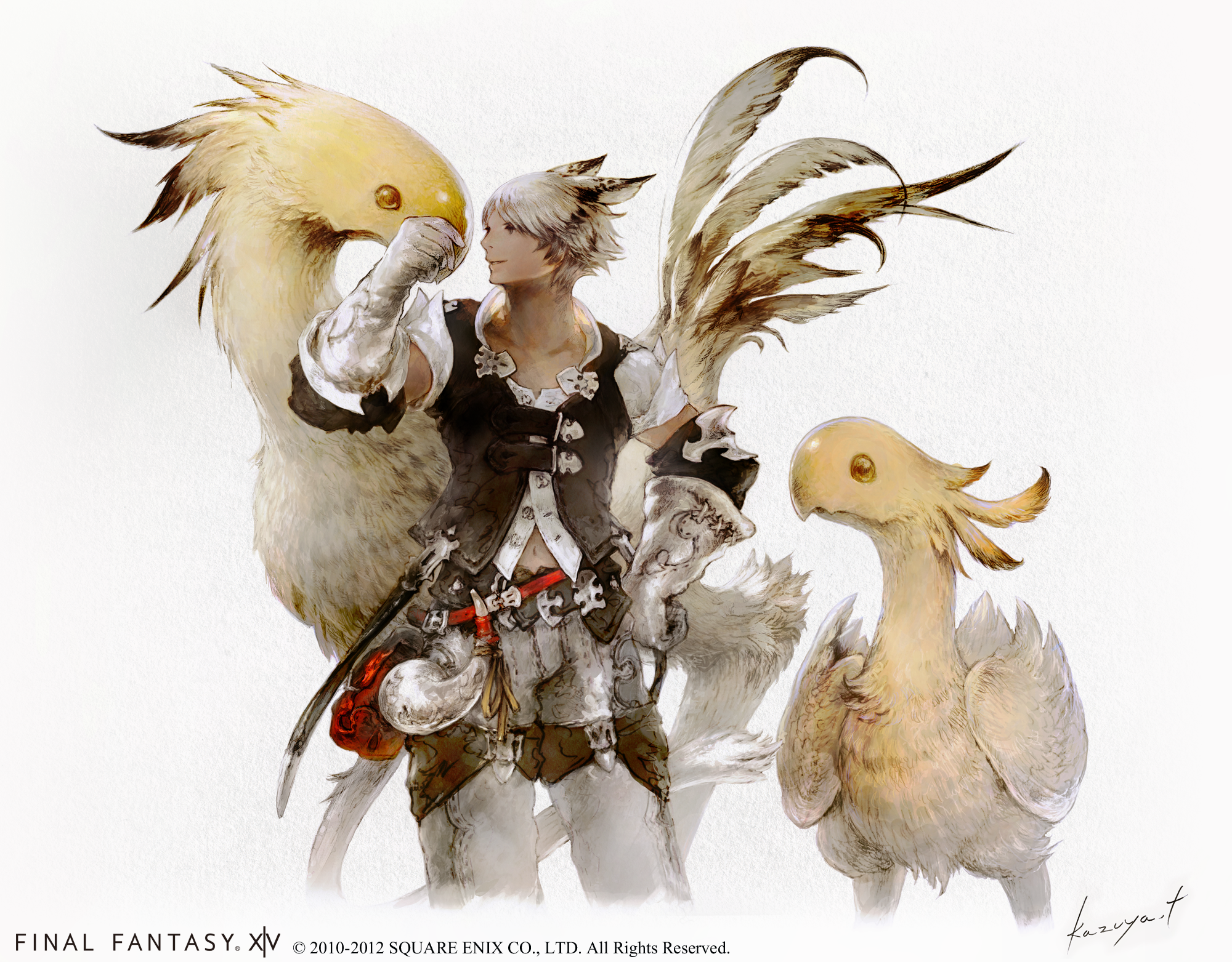 FFXIV-A-Realm-Reborn-Chocobo-and-Miqote.png