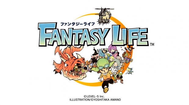 Fantasy Life Level-5 Logo