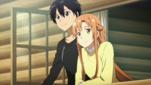 Sword Art Online Kirito and Asuna Together
