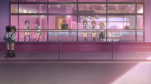 Girls und Panzer Hana, Miho, and Saori