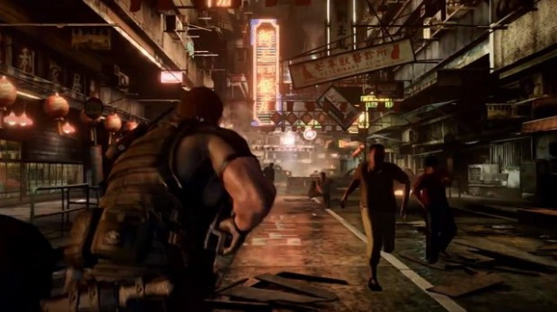 To its credit, Resident Evil 6 does look good. It's just upsetting that thats one of its only selling points.