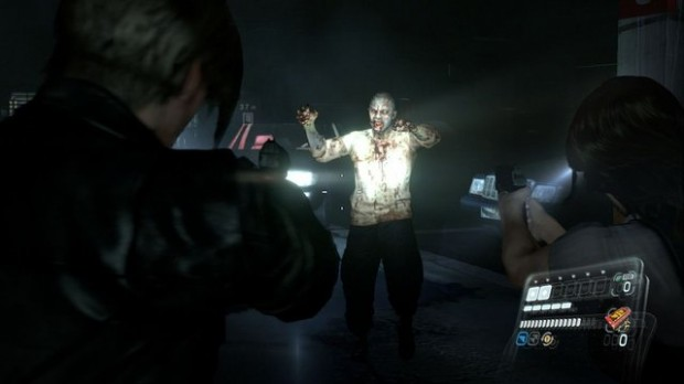 Spoiler Alert: You shoot a lot of zombies in this game.