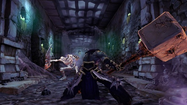 Darksiders II Death vs. Skeleton