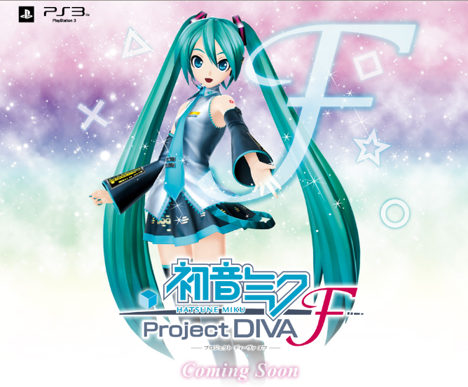 Time to talk about Project Diva F for the PS3. Sega has given us a