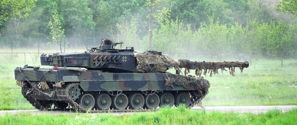 Bundeswehr Leopard 2A6