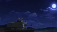The girls prepare for their fateful final match in Girls und Panzer episode 10.