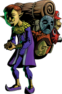 Majora's Mask Happy Mask Salesman
