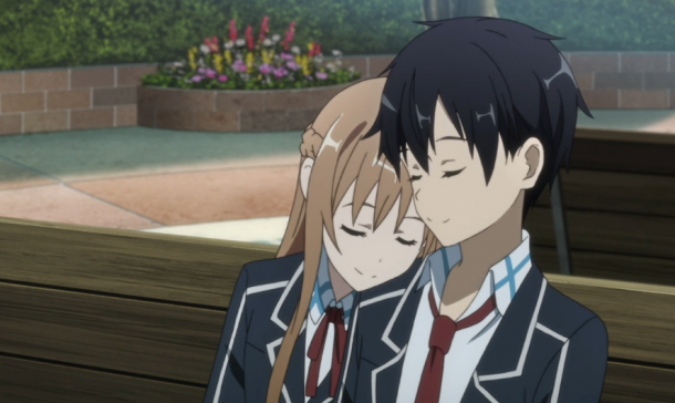 Sword Art Online Asuna and Kirito