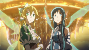 Sword Art Online Asuna and Leafa