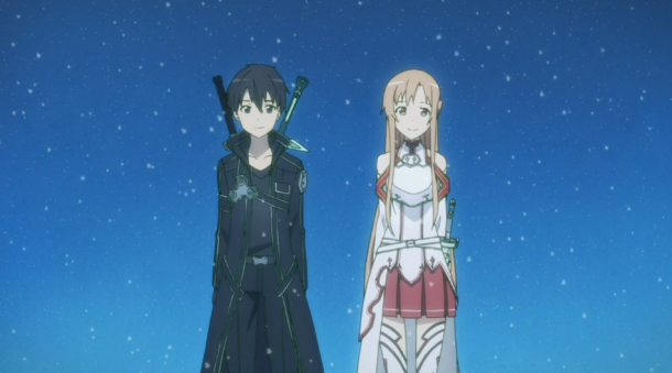 Sword Art Online - Kirito and Asuna | oprainfall