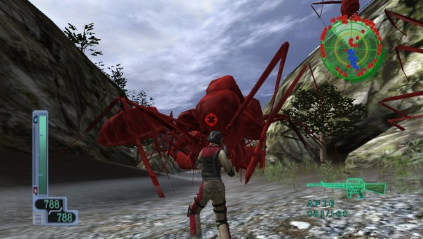 Earth Defense Force 2017 Portable screen cap 1