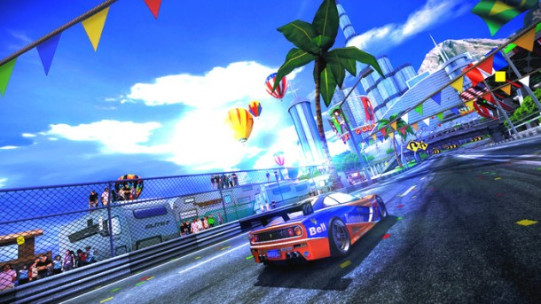 Classic arcade racing in glorious HD.