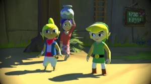 Wind Waker HD Screen