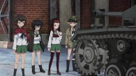 Girls und Panzer Caesar, Oryou, Saemonza, and Erwin