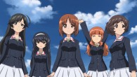 Girls und Panzer Hana, Mako, Miho, Saori, and Yukari