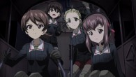 Girls und Panzer Shinobu, Noriko, Akebi, and Taeko