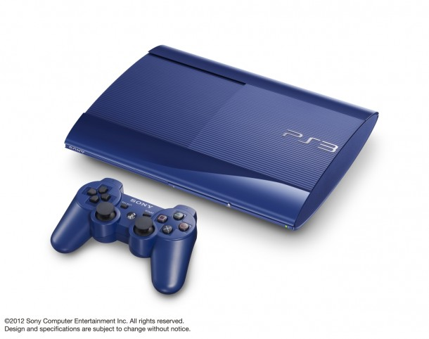 PlayStation-3 blue