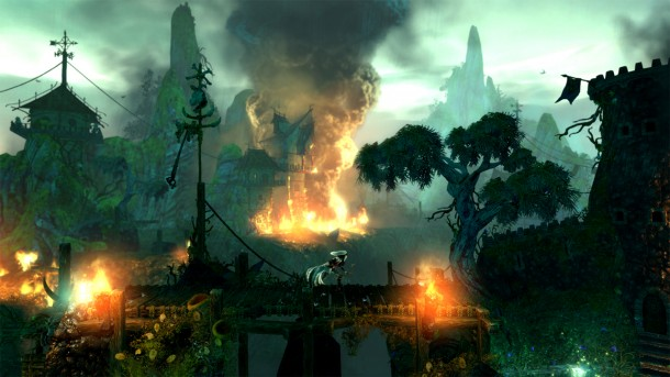 Trine 2 DC Europe - Burning
