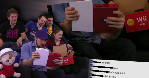 Wii mini Unboxing | oprainfall Awards