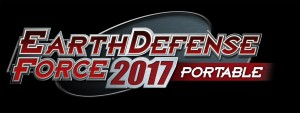 Earth Defense Force 2017 Portable Logo