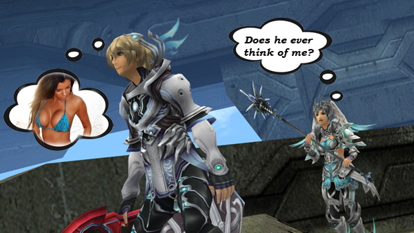 Shulk and Melia