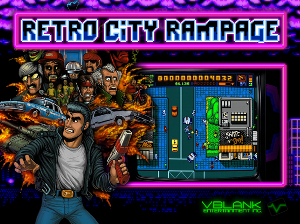 Retro City Rampage I Logo
