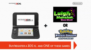 Nintendo 3DS XL Luigis Mansion