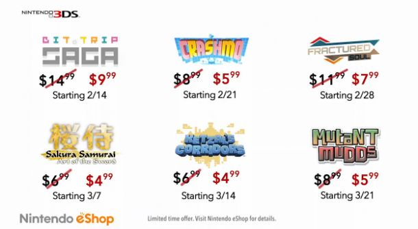 Nintendo 3DS eShop Sale