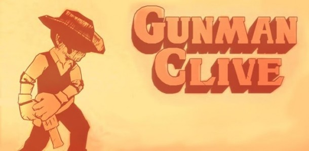 Gunman Clive Title Screen