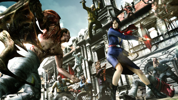 Resident evil 6 dlc