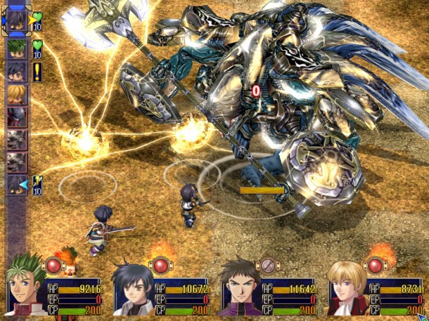 Trails in the Sky - Third Game Boss