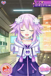 Hyperdimension Neptunia The App—Neptune