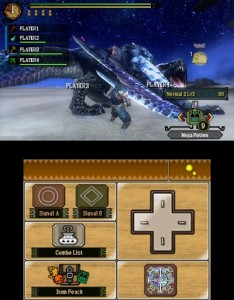 The NEW look of Monster Hunter for the 3DS...