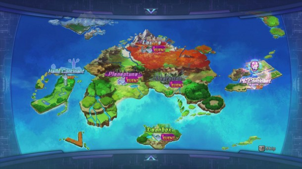 Hyperdimension Neptunia Victory   Screen shot 1