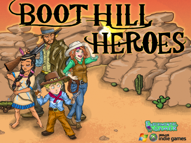 Boot Hill Heroes Poster