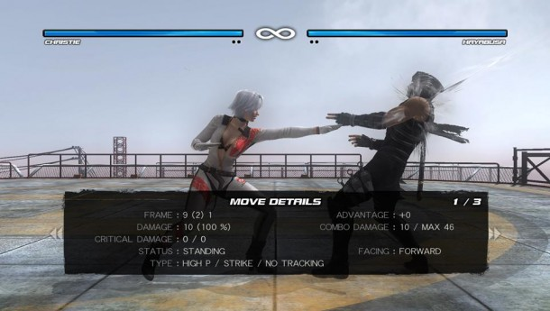 Dead or Alive 5 Plus | Move Details—Christie vs. Hayabusa