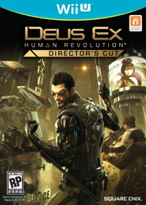 Rumored box art for Deus Ex: Human Revolution Director's Cut for Wii U