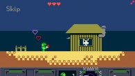 A frog with a gun, an epic quest for love.
