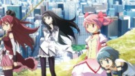 The third movie continues the Madoka Magica story from where the TV series left off.