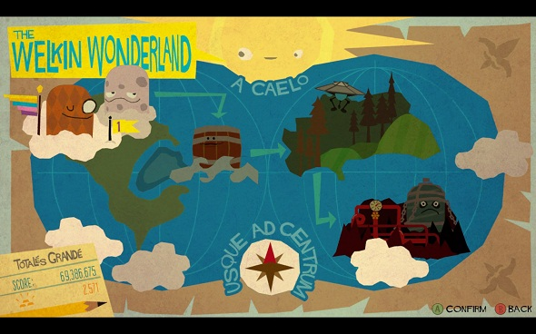 Runner2 World Map