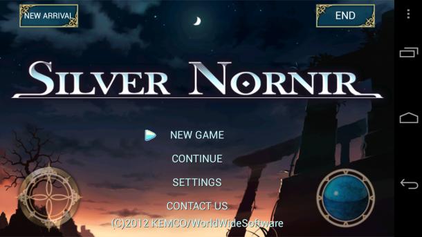 Silver Nornir Title- Kemco