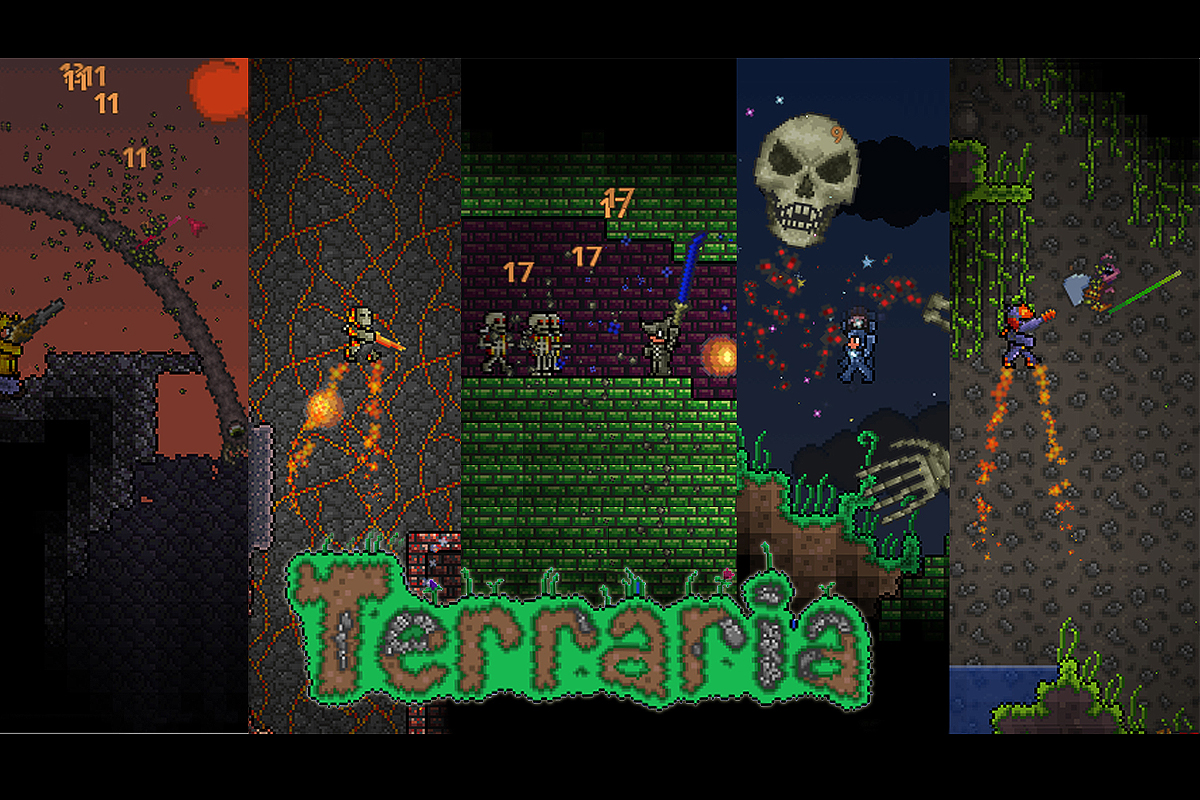 Terraria Digs Its Way to PlayStation Vita This Summer - oprainfall