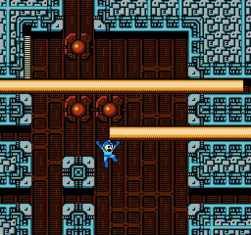 Mega Man 2 | Quick Man lasers