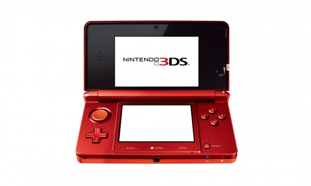 Nintendo 3DS - Red | Media Create