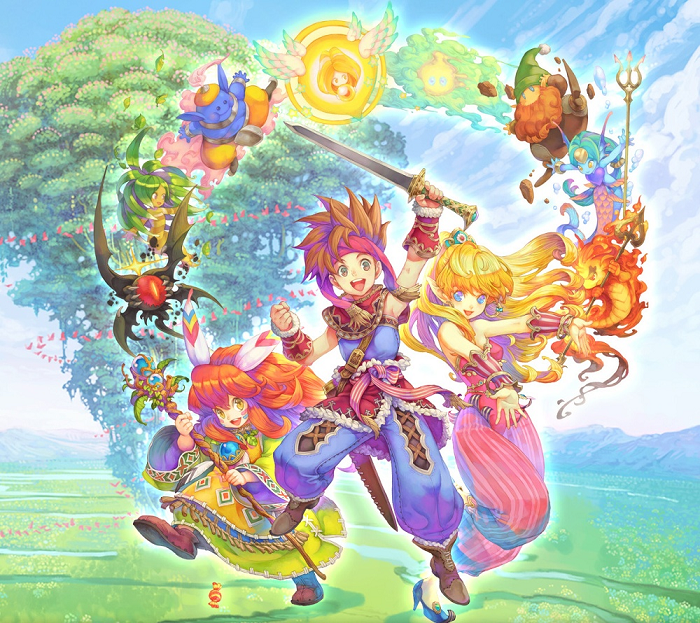 Swords Weapons Weapons The Sword of Mana