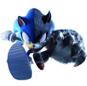 Sonic Unleashed - Packshot Pose Split