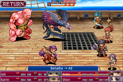Alphadia Battle 1