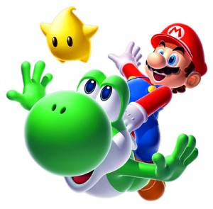 Super Mario Galaxy 2 Packshot Pose